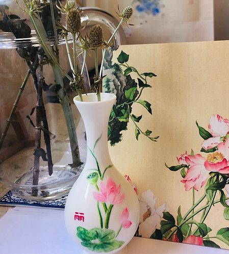 Chinese Ceramic Vase Painting Workshop