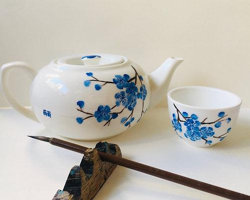 Online Group Teapot Painting Workshop + Tools Kit