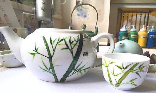 Chinese CeramicTeapot Painting Workshop   One-Off Class