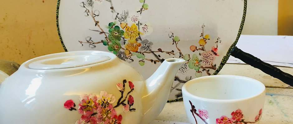 Chinese CeramicTeapot Painting Workshop