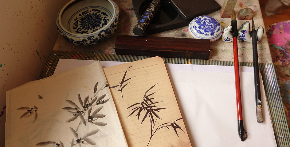 Chinese Ink Painting - Condensed 4 Classes Workshop