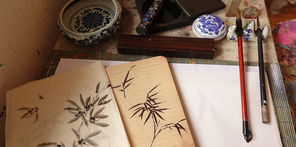 Chinese Ink Painting -  5  Condensed Classes For Beginners