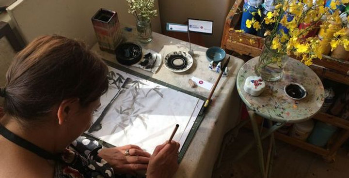 Beginners Chinese Ink Painting Class