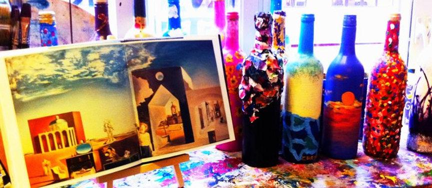 Bottle Art Workshop | One-Off Workshop
