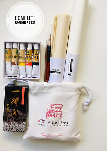 Complete Beginners Set- Chinese Painting