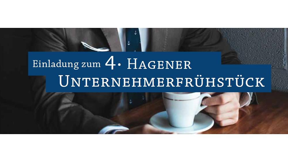 Einladung zum 4. Hagener Unternehmerfrühstück