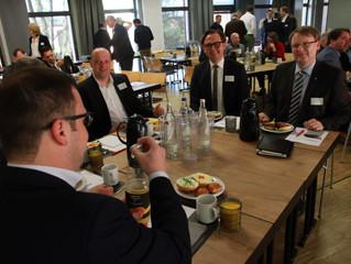 Das 1. Hagener Unternehmerfrühstück - ein Tag der im Gedächtnis bleibt!