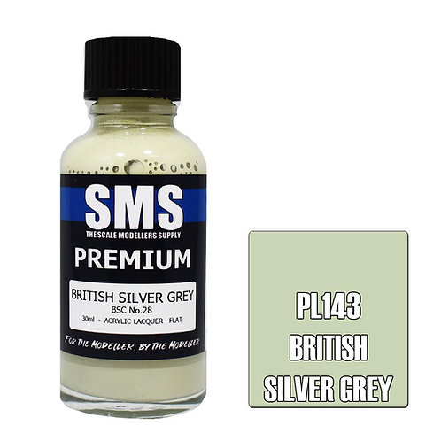 Premium BRITISH SILVER GREY 30ml