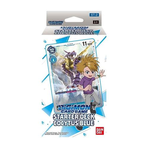 Digimon Card Game Starter Deck Cocytus Blue