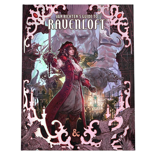 D&D Van Richten's Guide to Ravenloft Special Cover