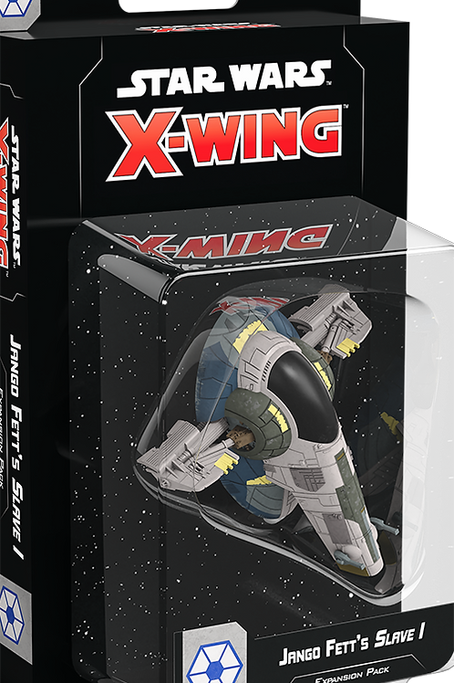 Star Wars X-Wing 2nd Edition Jango Fetts Slave 1 Expansion Pack