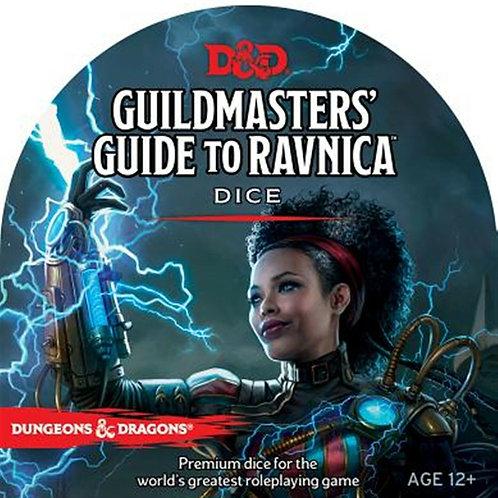D&D Guildmasters Guide to Ravnica Dice Set