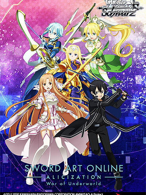 Sword Art Online Alicization Vol.2 - War of Underworld Booster Box