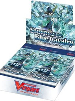[Vanguard] V-BT11 Storm of the Blue Cavalry Booster