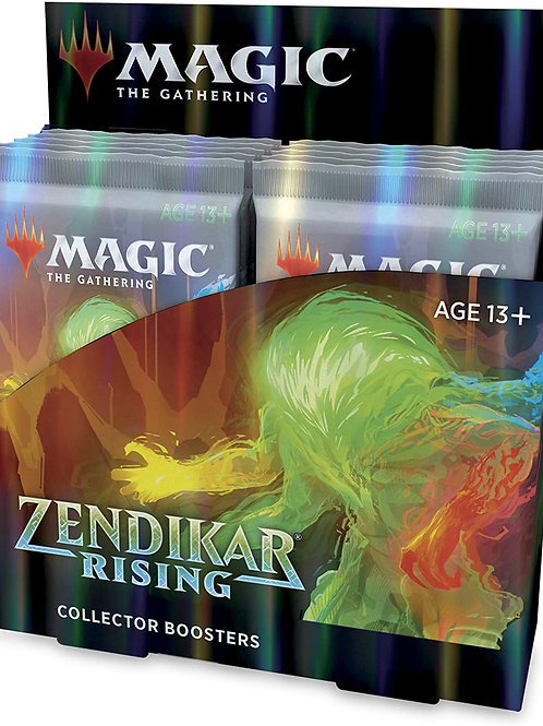 Magic Zendikar Rising Collector Booster Display