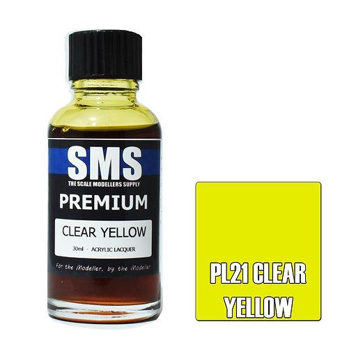 Premium CLEAR YELLOW 30ml