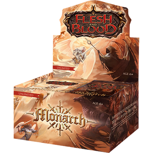 Flesh and Blood - Monarch Booster Box Unlimited Edition