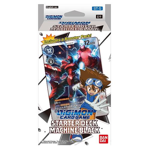 Digimon Card Game Starter Deck Machine Black