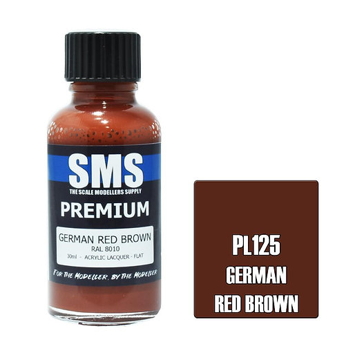 Premium GERMAN RED BROWN 30ml