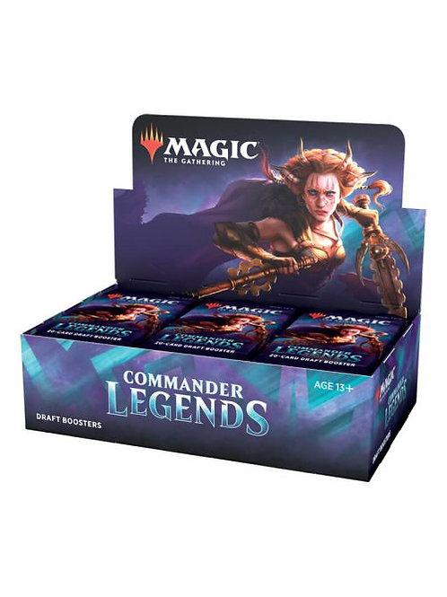Magic Commander Legends Draft Booster Display