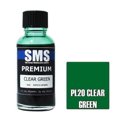 Premium CLEAR GREEN 30ml