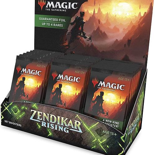 Magic Zendikar Rising Set Booster Display
