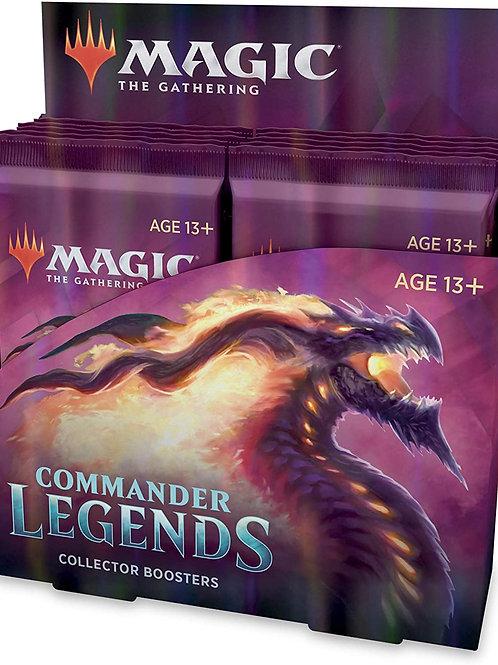 Magic Commander Legends Collector Booster Display