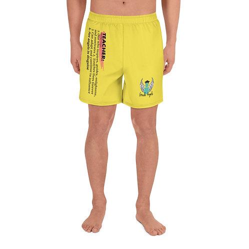 Teacher Definition Men's Athletic Shorts