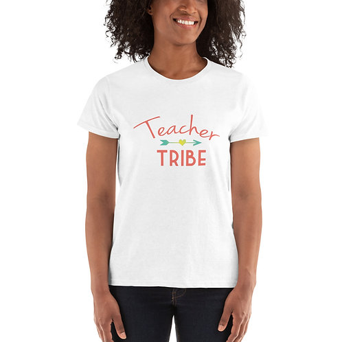 "Ladies' ""Teacher Tribe"" Classic T"