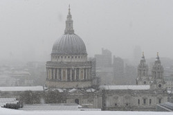 La neve in città