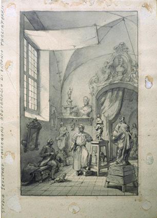Studio dello scultore Antonio Calegari
