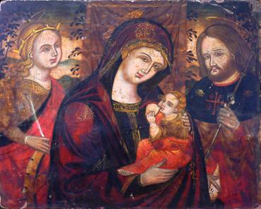 Madonna con Bambino tra i Santi Rocco e Caterina d'Alessandria