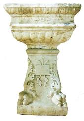 Fonte battesimale, XV secolo