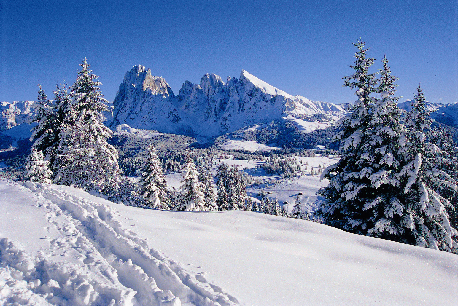 Neve in montagna
