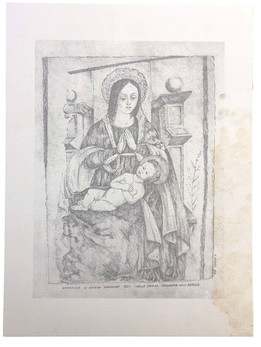 Madonna della Chiesetta dell'Avello di Ome