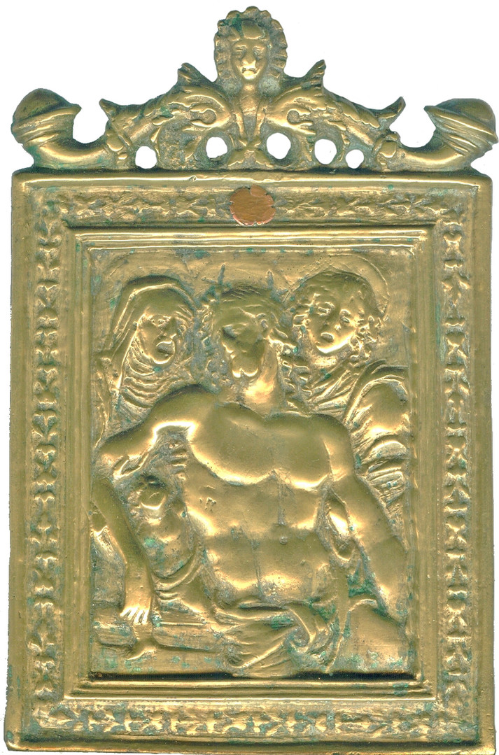 Cristo morto tra Maria e Giovanni