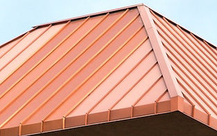 Copper Roof for home, propery, or commercial building