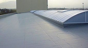EPDM roofing for a commercial or industrial building