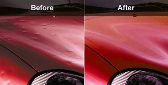 auto hail damage repair (PDR)
