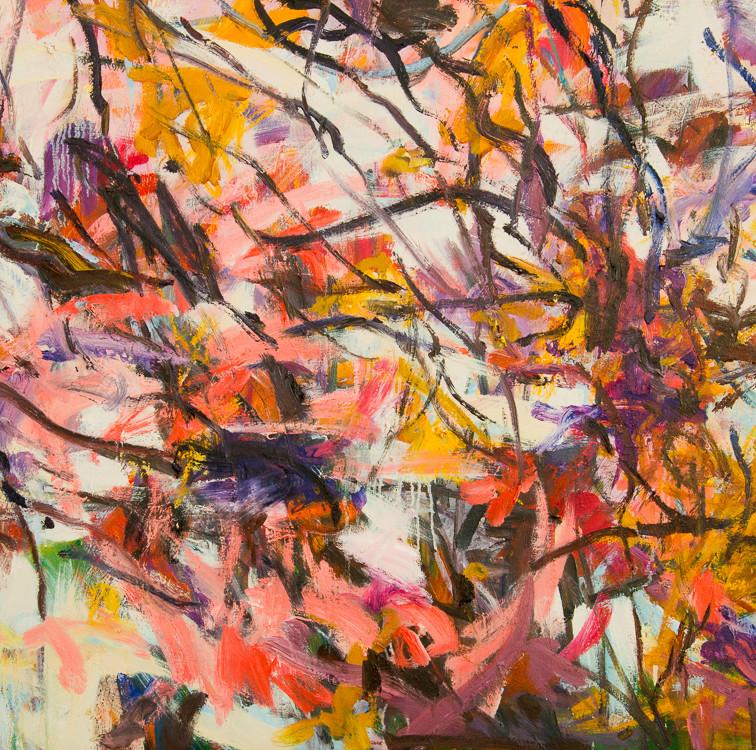 Autumn Glory - 4 - Oil on canvas - 1200 x 910mm