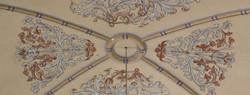 El techo de la capilla