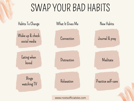 Swap out your bad habits