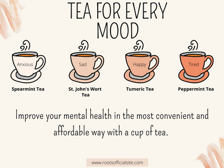 Take Care Of Your Mental Health With Tea