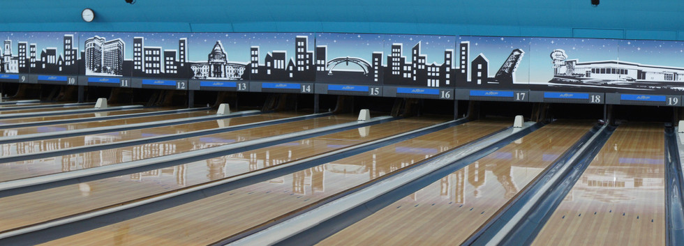 Above the lanes design