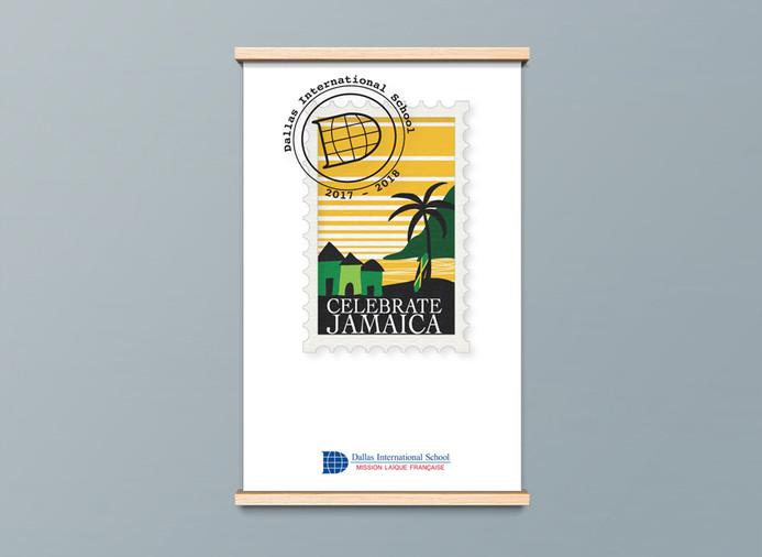 Year logo poster