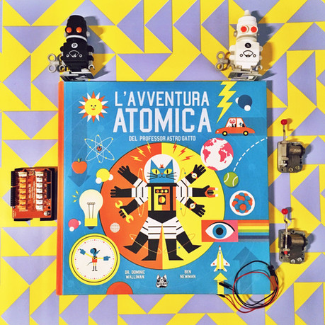 L'avventura atomica del professore astrogatto