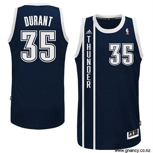 NBA Thunder Navy Durant 35 Singlet