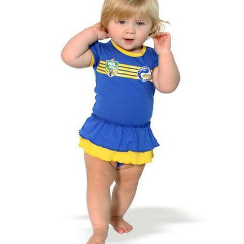 Eels onesie 6-12 years Footysuit girls