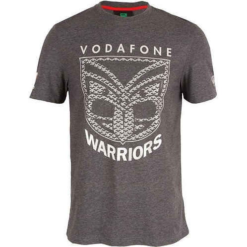 Warriors sideline tee blackened marle E%$6805