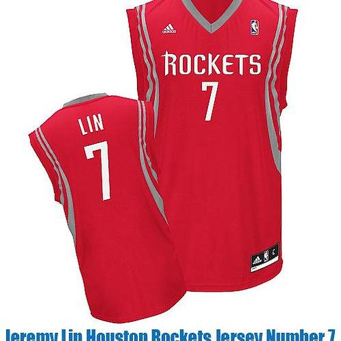 NBA Houston Rockets Lin 7 Singlet